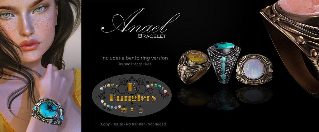 KUNGLERS – Anael bracelet vendor