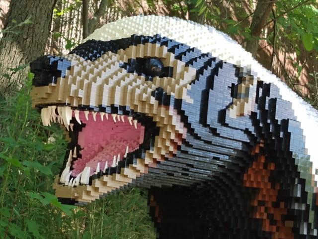 BRICKLIVE Superrsized!  @ John Ball Park Zoo