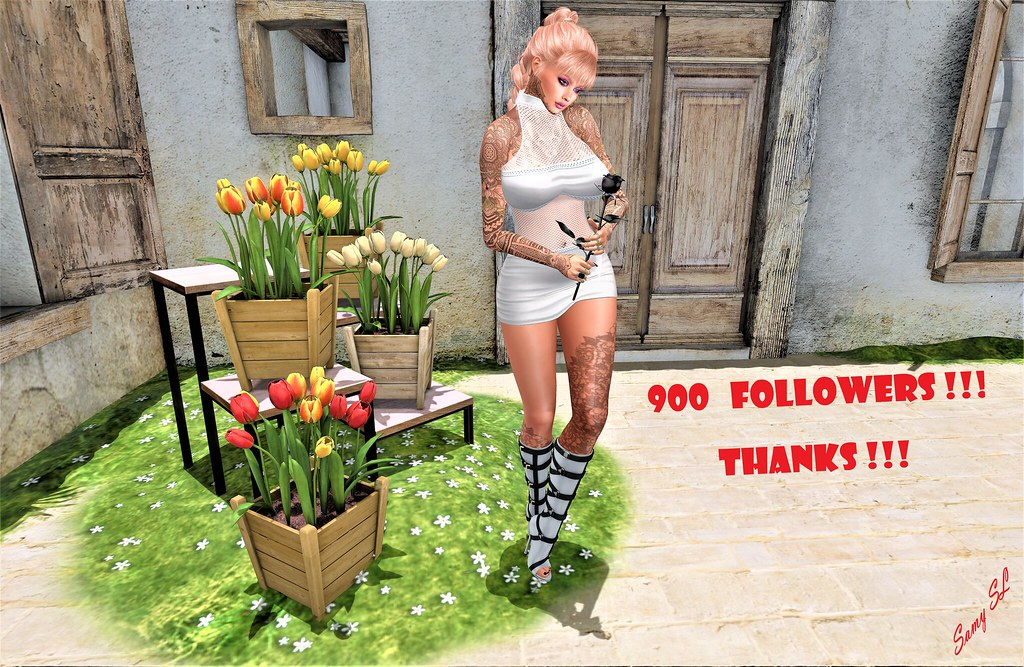 ♥ 900 FOLLOWERS !!! THANKS !!! ♥