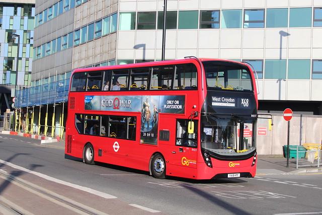 London Central EH217, YX18KPF - Route X68   West Croydon Bus Station