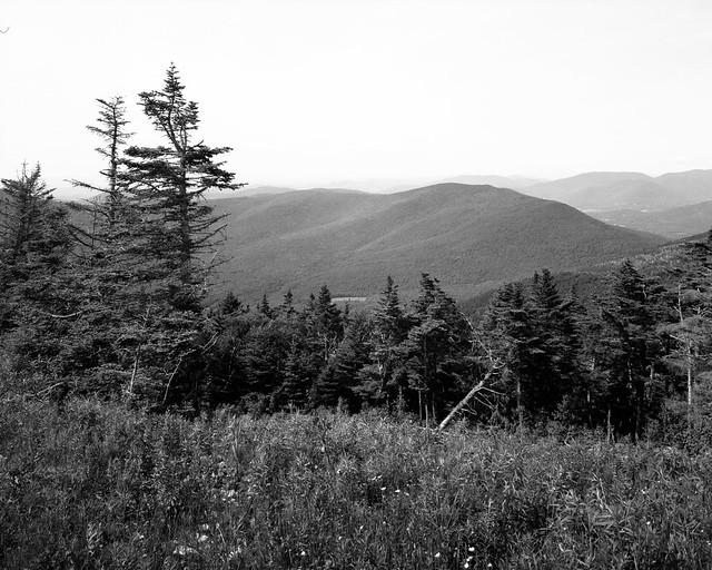 View fron Mount Equinox