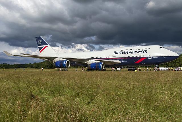 British Airways 747-400 G-BNLY