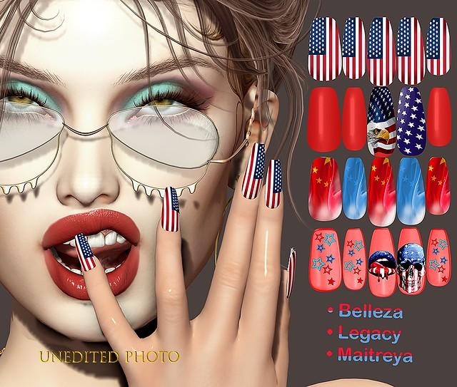 ✰New!!! LaBella **Ina July 4th Nails* * on Marketplace✰