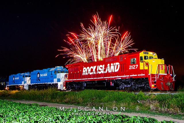 RI 2127   GE C42-8   Rock Island Rail