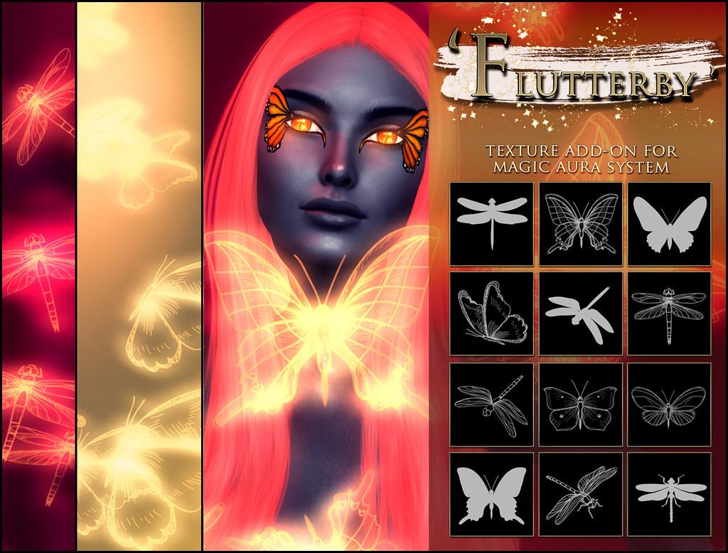 -Elemental - ' Flutterby ' Texture Addon For Magical Aura Advert