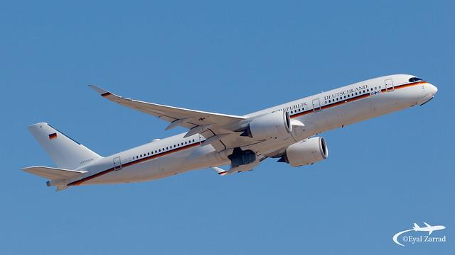 TLV - ** RARE ** German Air Force Airbus 350-900 10+03