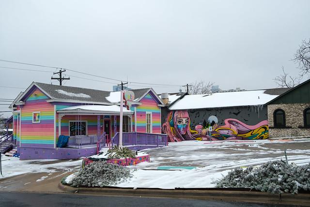 Austin, TX Snow Storm - Some Color