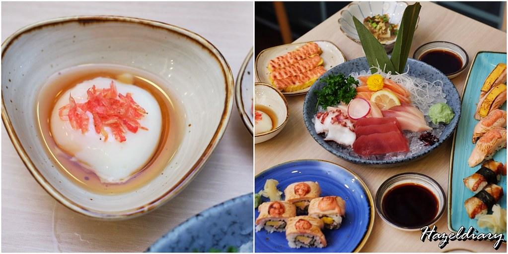 Senshi Sushi & Grill- Japanese Restaurant Dorsett Singapore- Sashimi