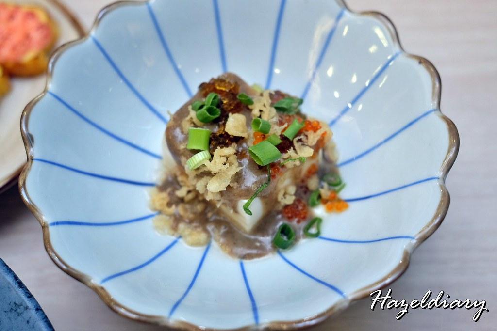 Senshi Sushi & Grill- Japanese Restaurant Dorsett Singapore- Pidan Tofu