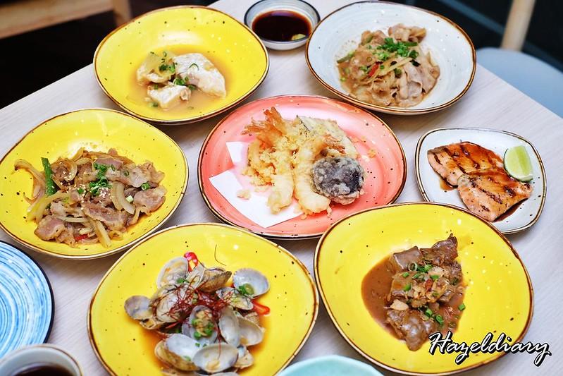 Senshi Sushi & Grill- Japanese Restaurant Dorsett Singapore- Cooked Items