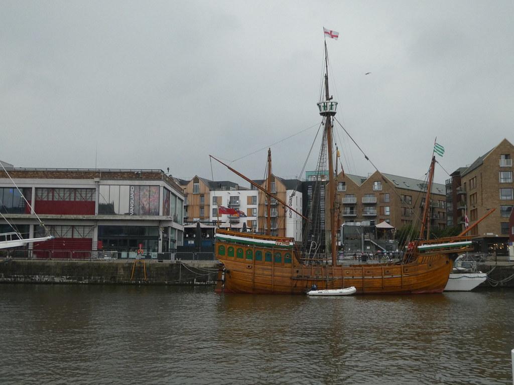 A replica of The Matthew, Bristol Harbour