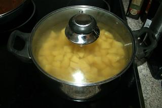 30 - Bring to a boil with lid / Geschlossen zum kochen bringen