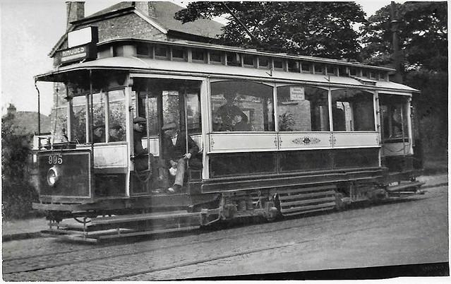 Manchester tram No. 995 ex Middleton