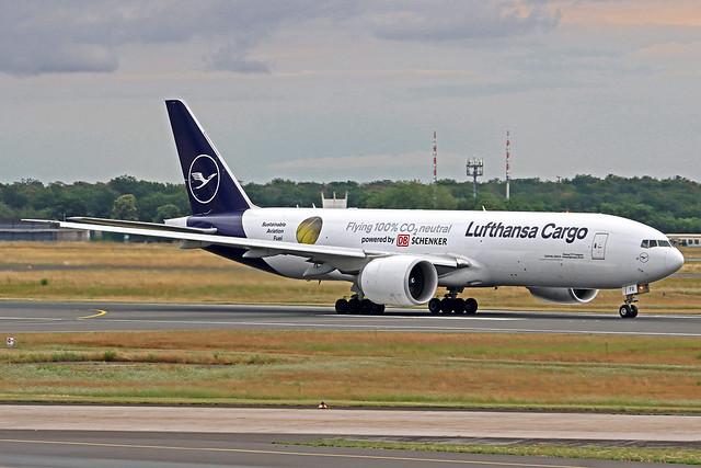 Lufthansa Cargo Boeing 777-FBT D-ALFG