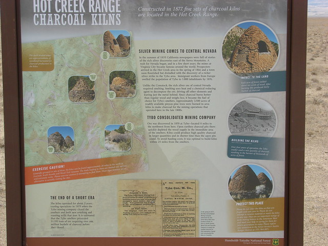 Tybo Mines Informational Signs