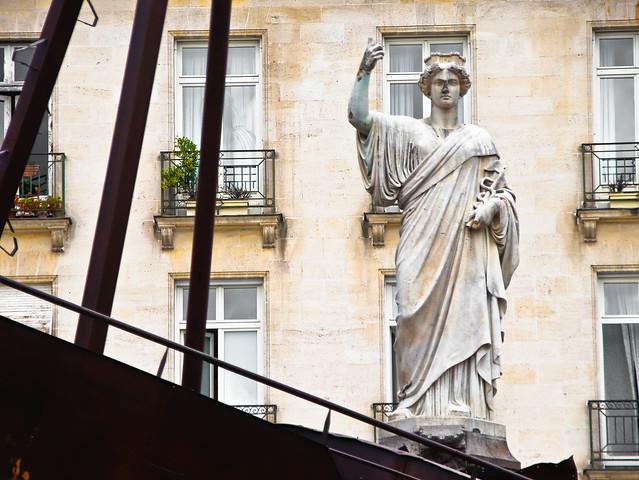 La statue de Nantes