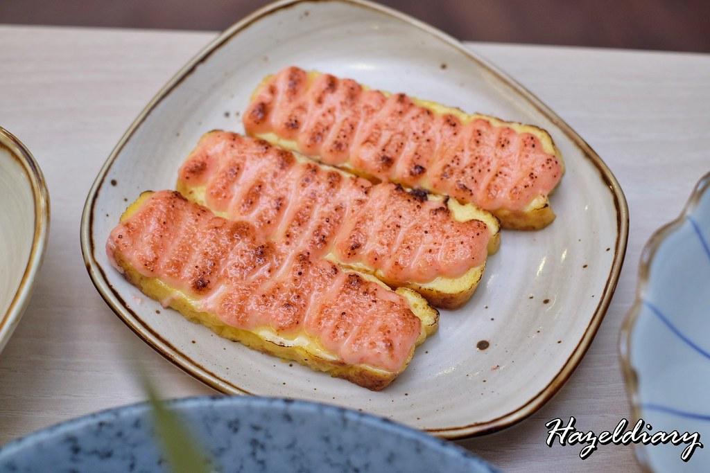 Senshi Sushi & Grill- Japanese Restaurant Dorsett Singapore- Mentaiko Tamago