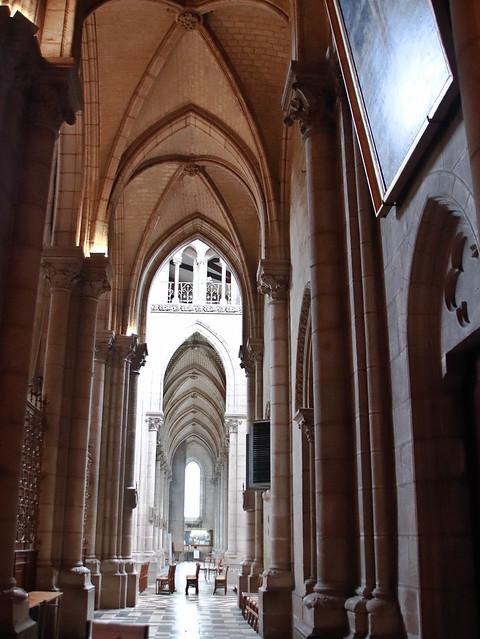 Intérieur : La basilique Saint-Nicolas de Nantes