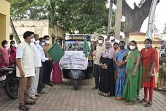 Covid19 Relief in Doddamaralawadi PHC, Karnataka