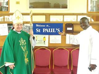 Visit - Bishop Paul McAleenan
