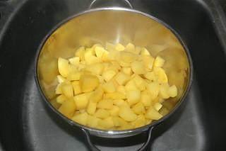 32 - Drain potatoes / Kartoffeln abtropfen lassen