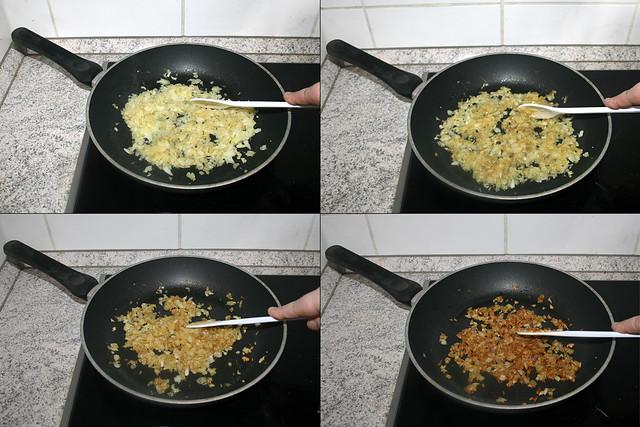07 - Brown onions / Zwiebeln bräunen