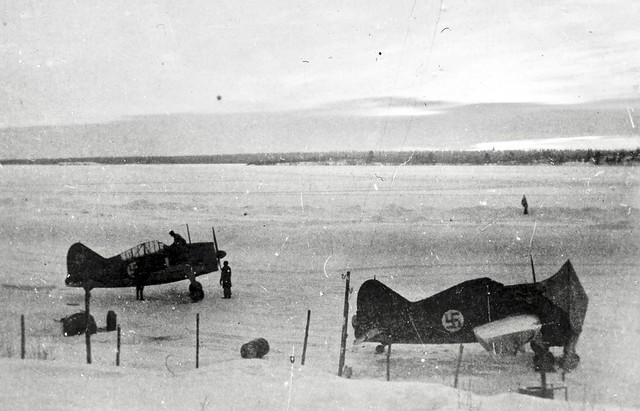 Brewsters on Lake Onega 1941