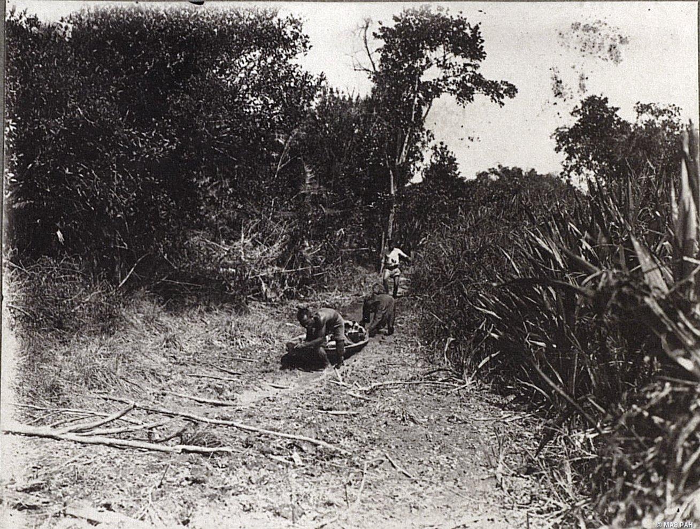 Переход через болот. Суматра (2)