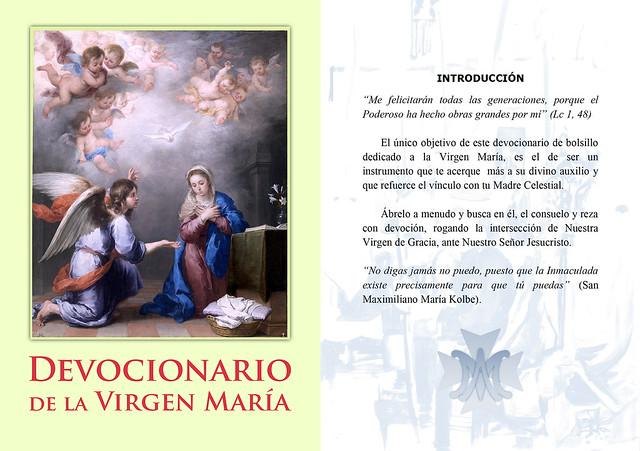 Devocionario Virgen