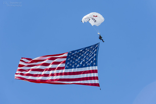 American Flag Arrival - 4th of July 2021