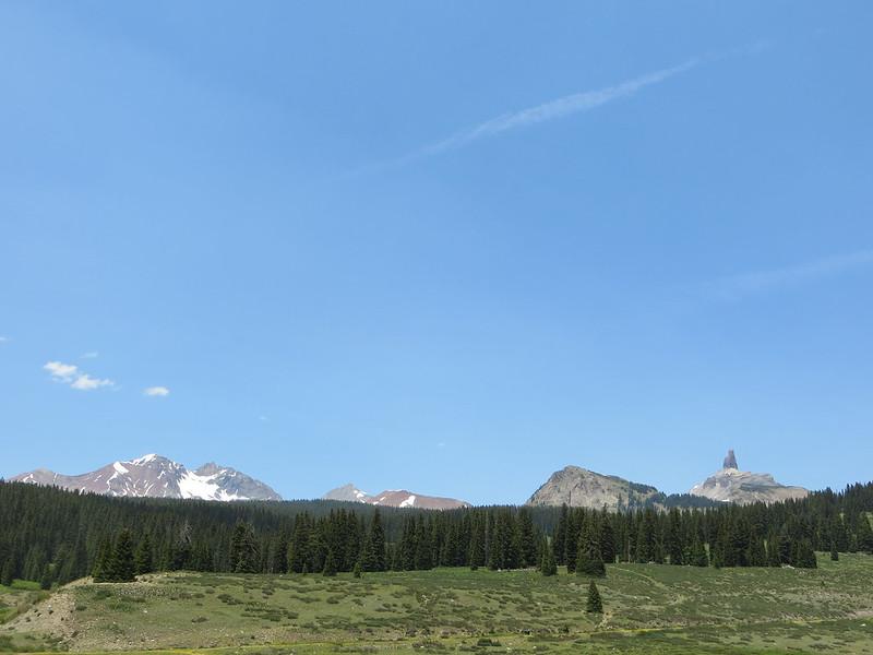 Mt. Wilson, Gladstone Peak, and Lizard Head