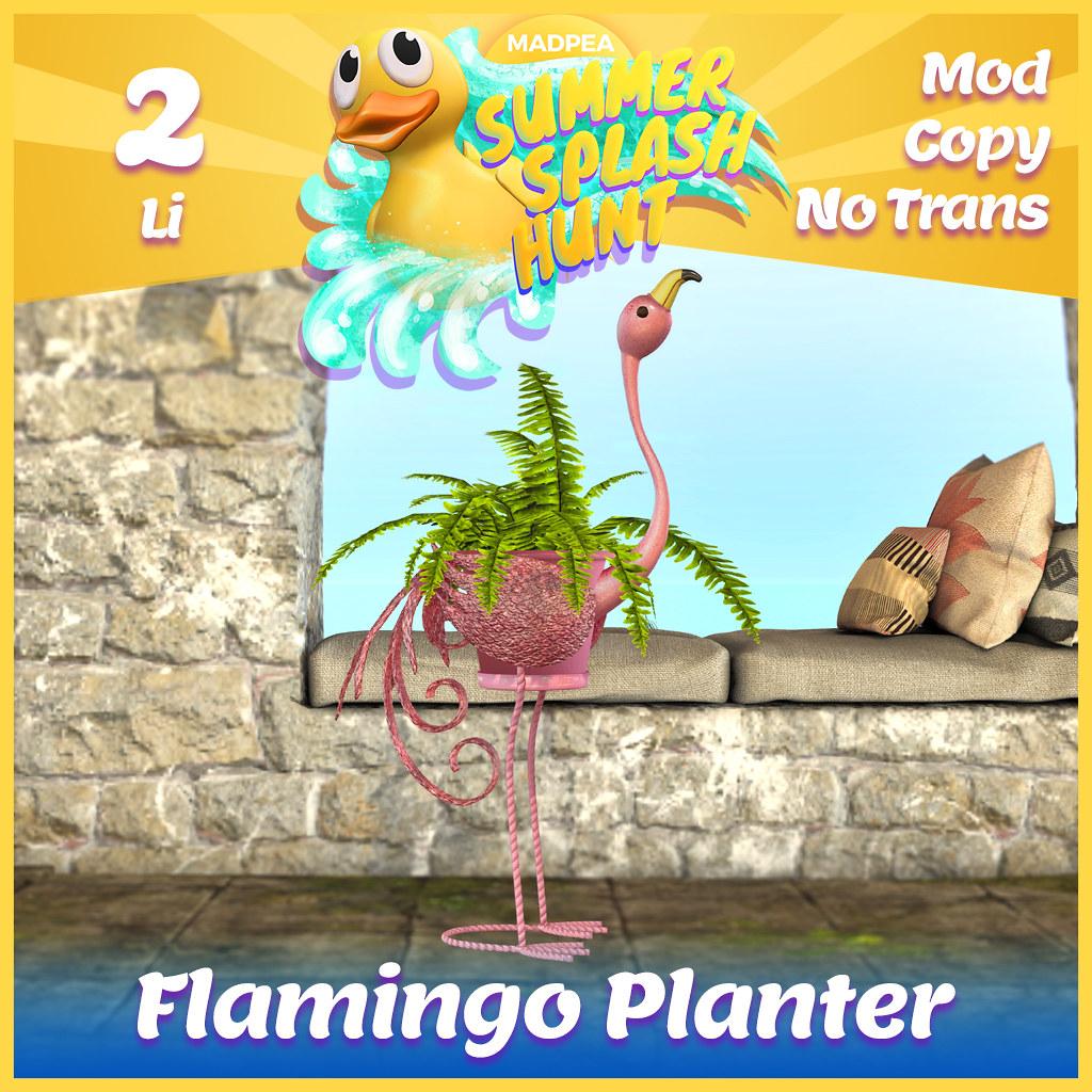 Summer Hunt Prize Reveal: Flamingo Planter