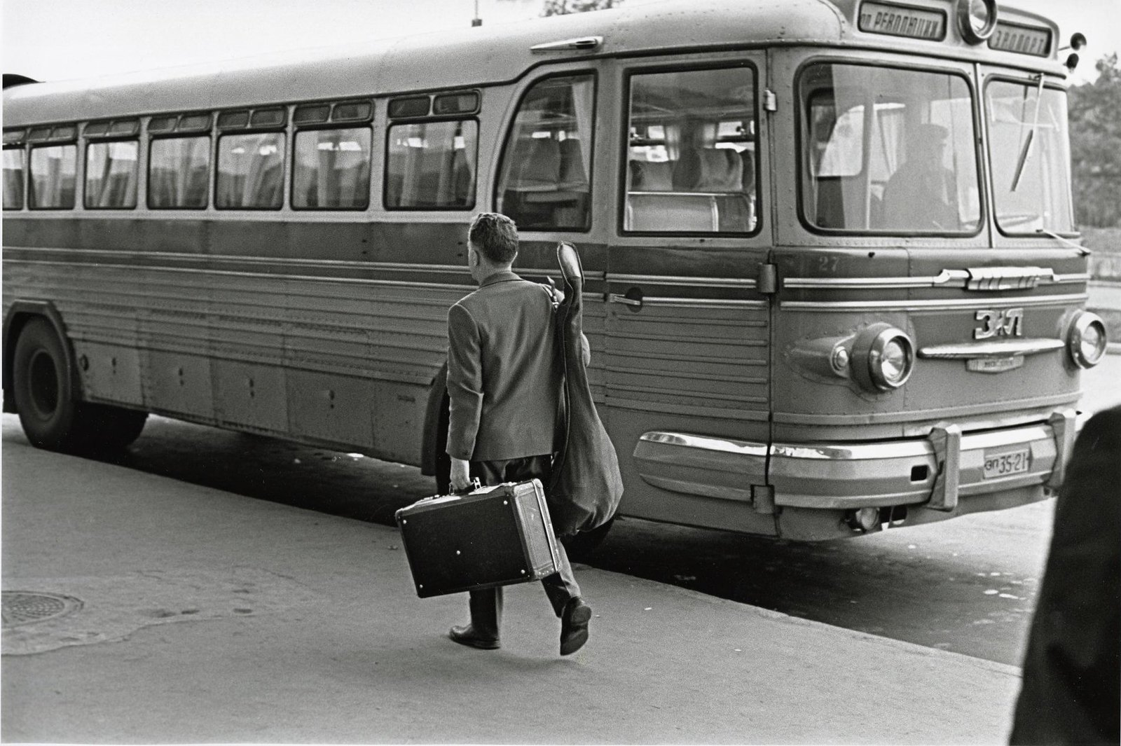 1964. Автобус в аэропорт