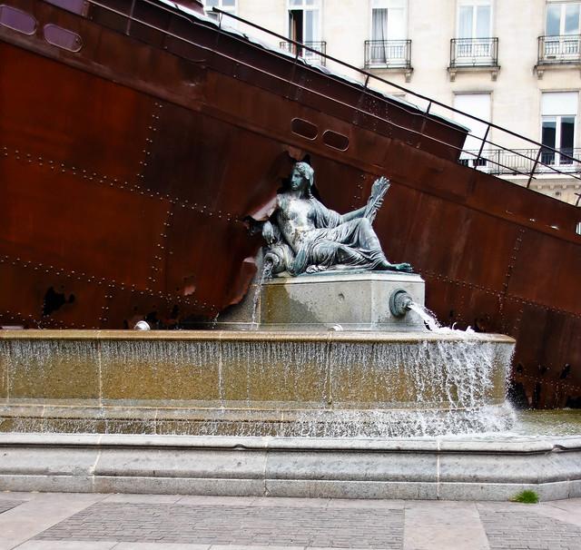 La statue de la Loire