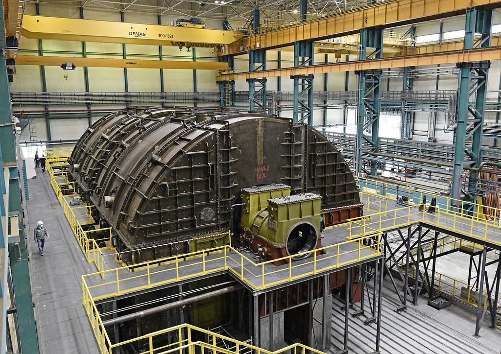 Силовые машины_ЛМЗ_тихоходная турбина 1255 МВт