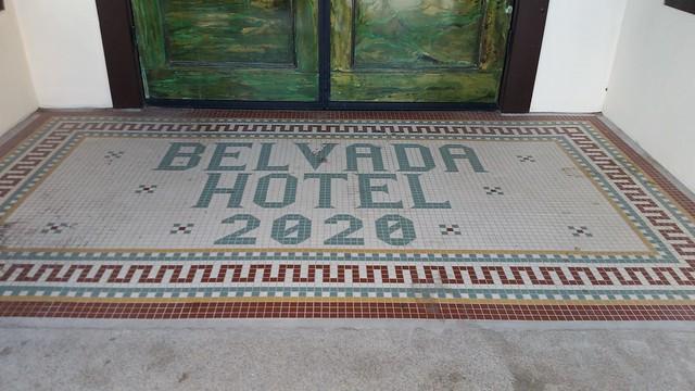 Belvada Hotel Entrance