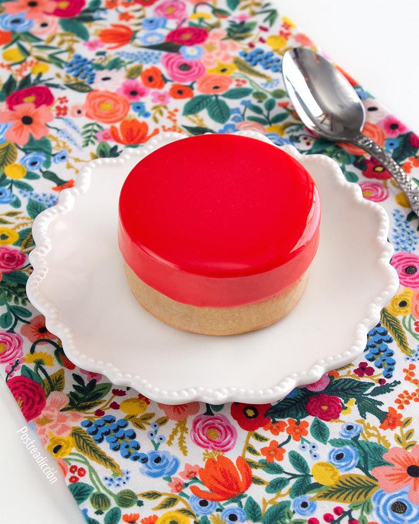 receta de tartaletas de frambuesa