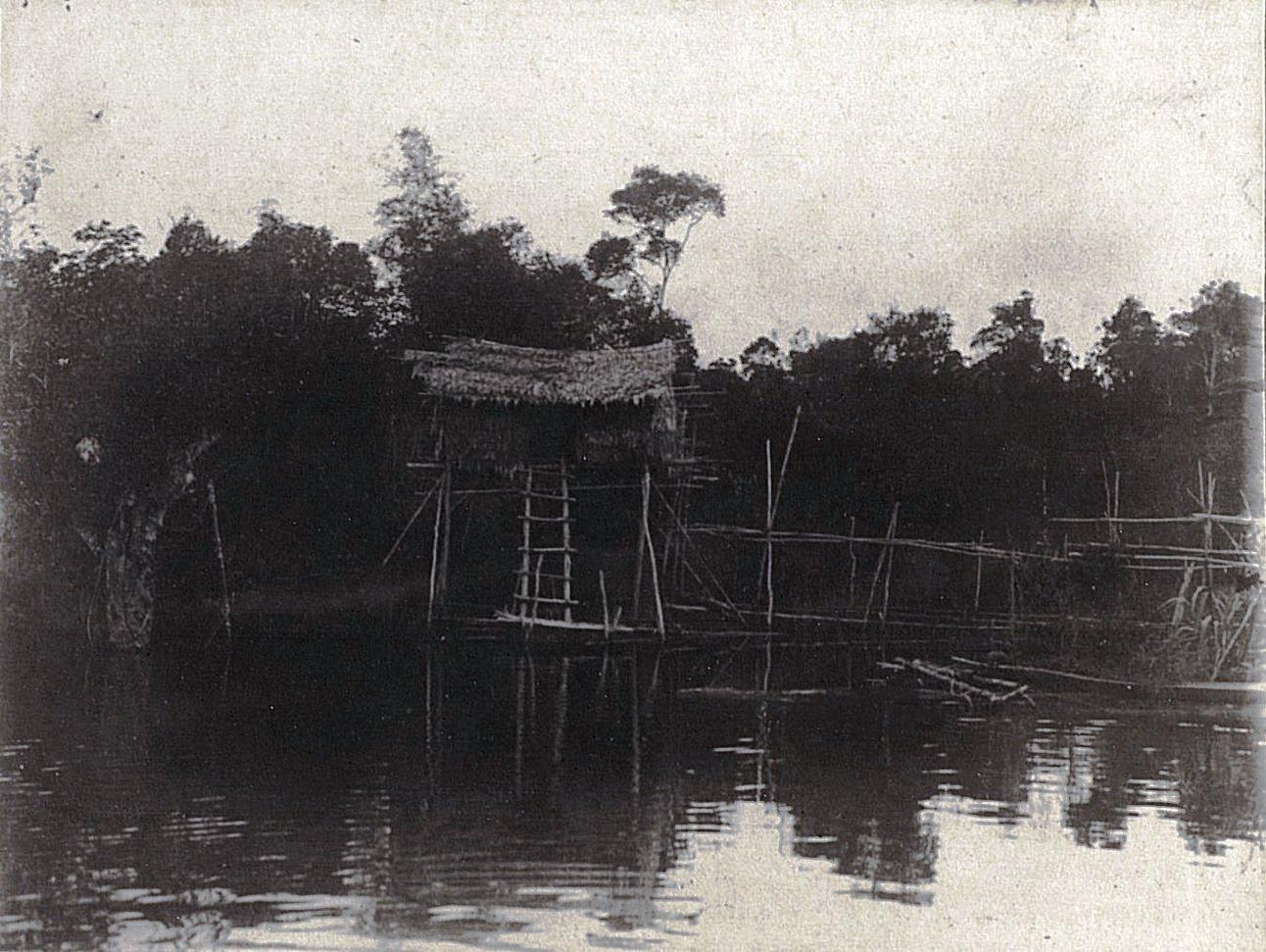 Свайный дом. Суматра