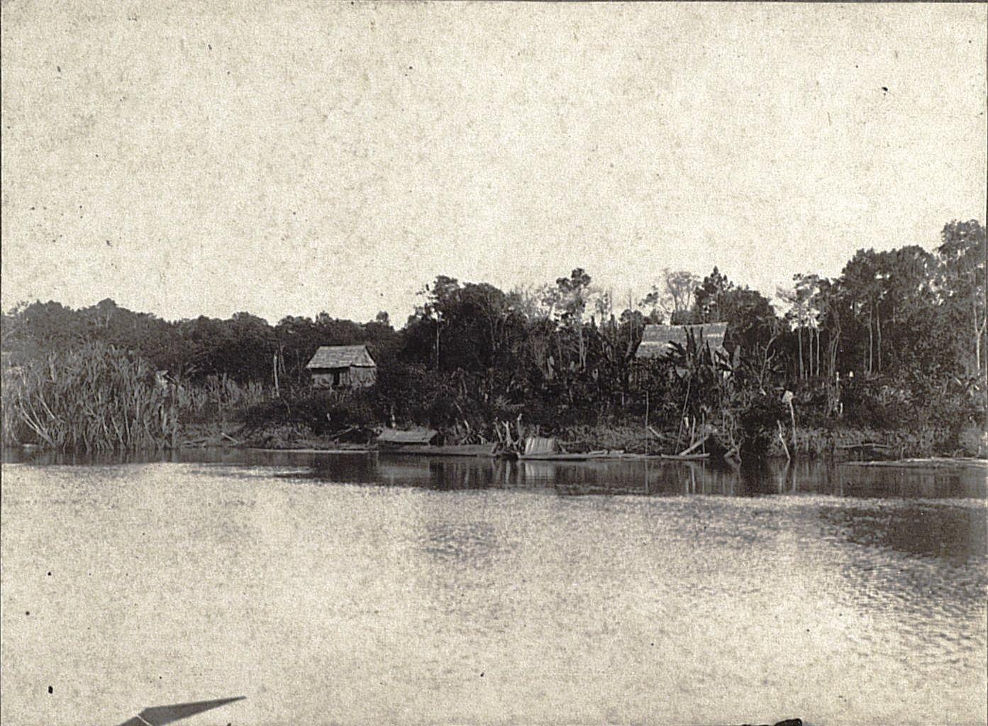 На реке Сиак. Суматра
