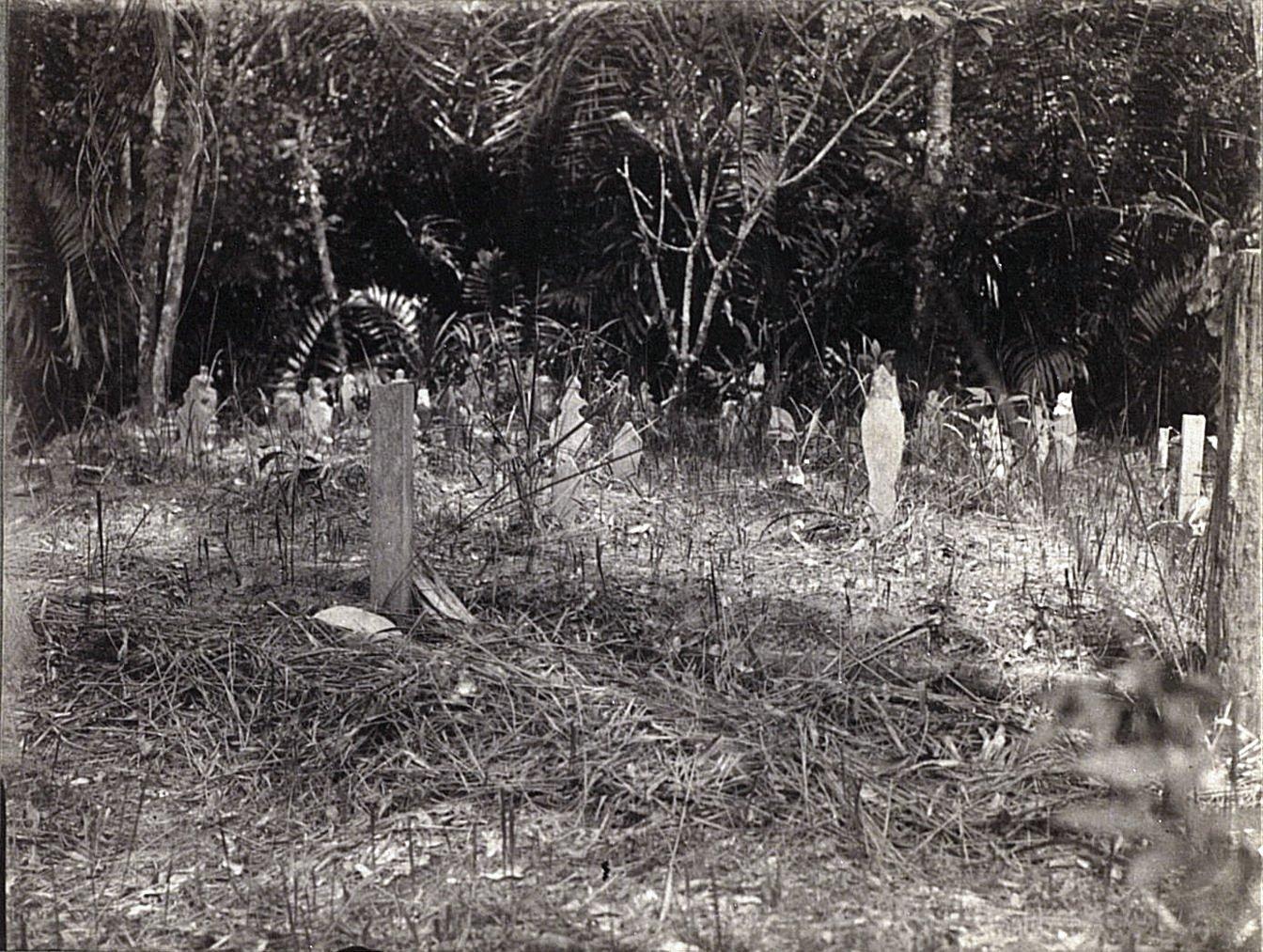 Кладбище в Сиаке. Суматра