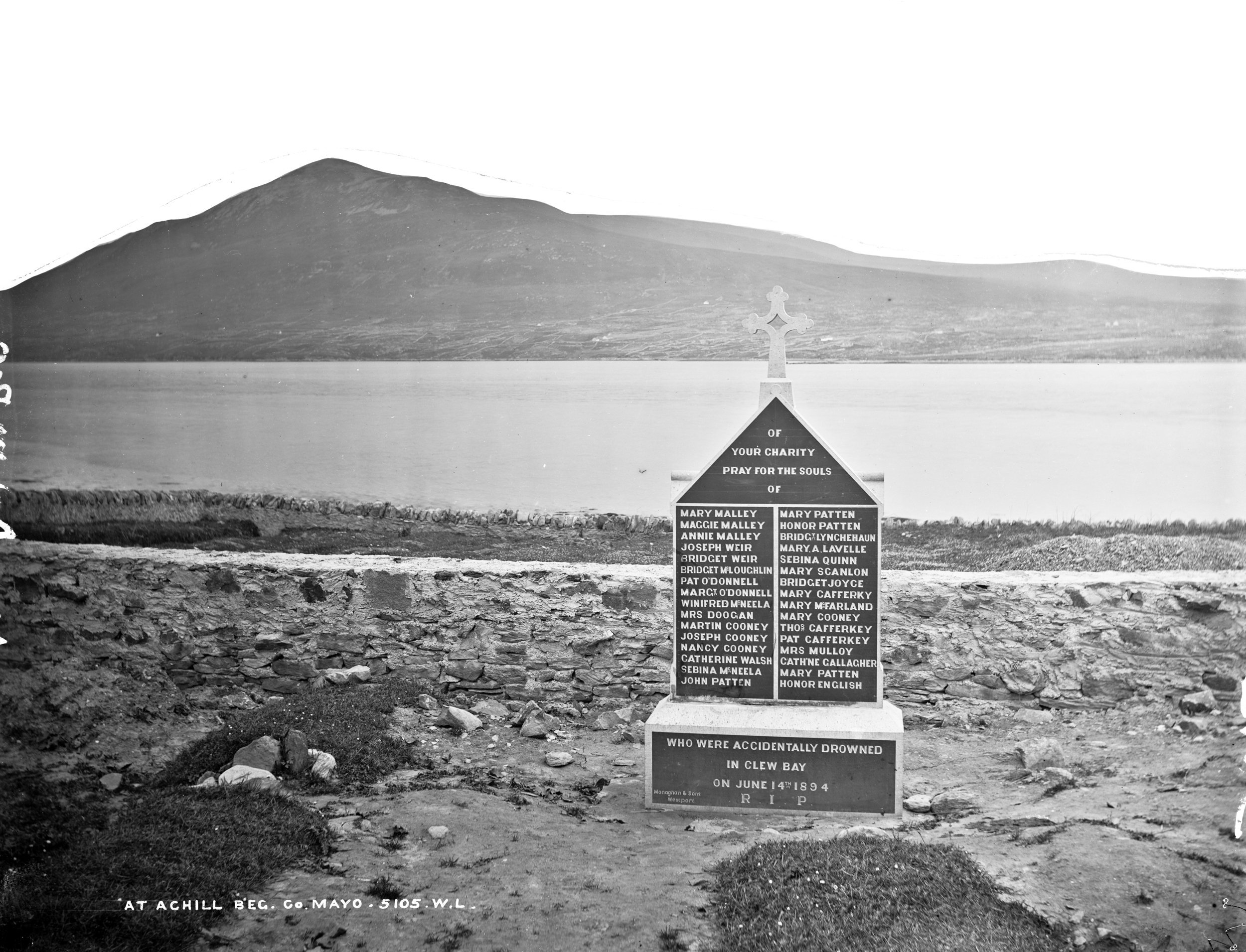 Achill tragedy remembered.