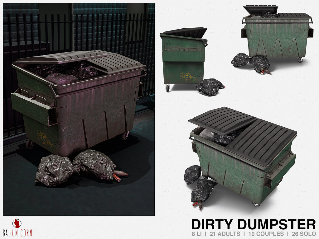 NEW! Dirty Dumpster @ TMD