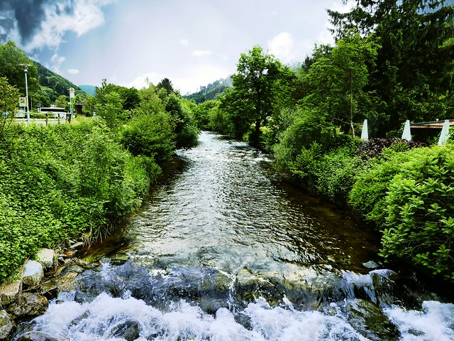 week end in the Black Forest - a river