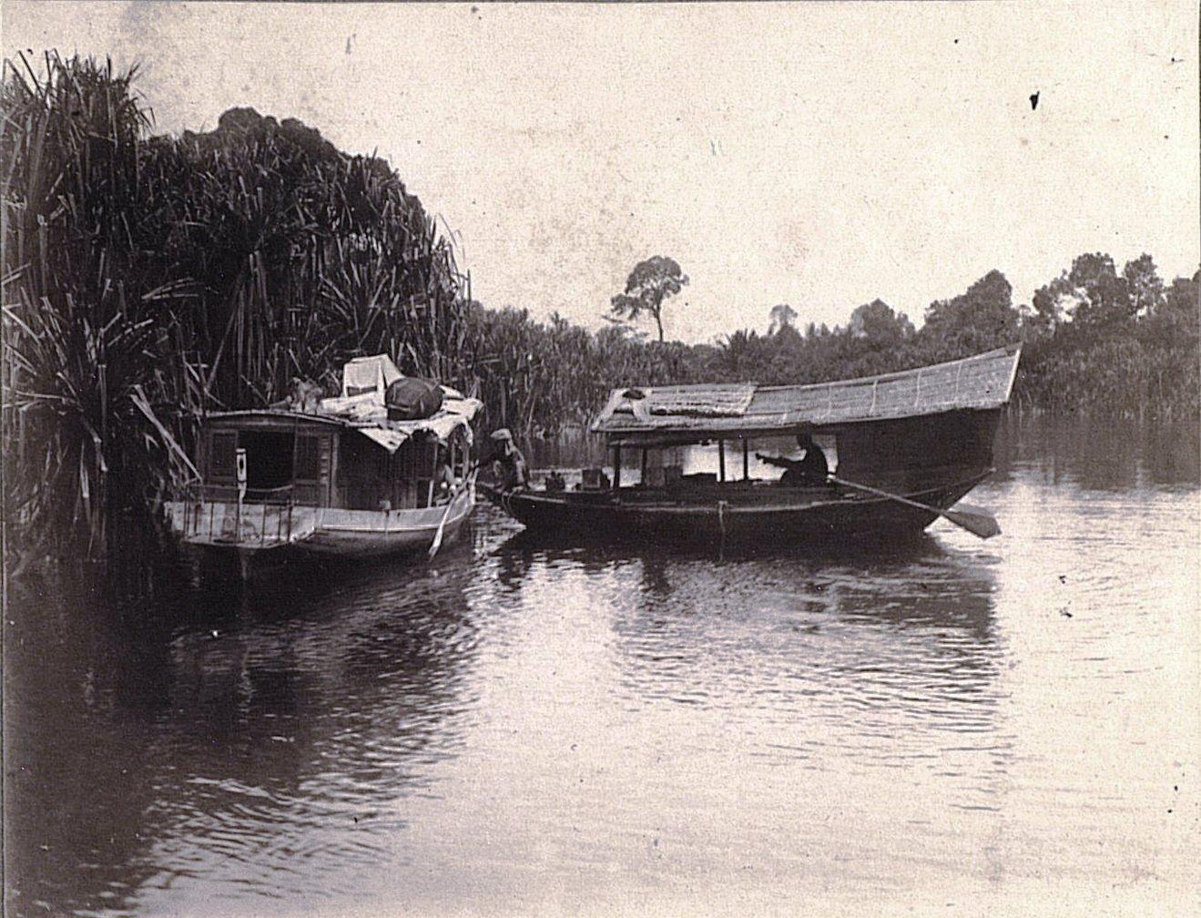 Лодка китайского торговца. Суматра