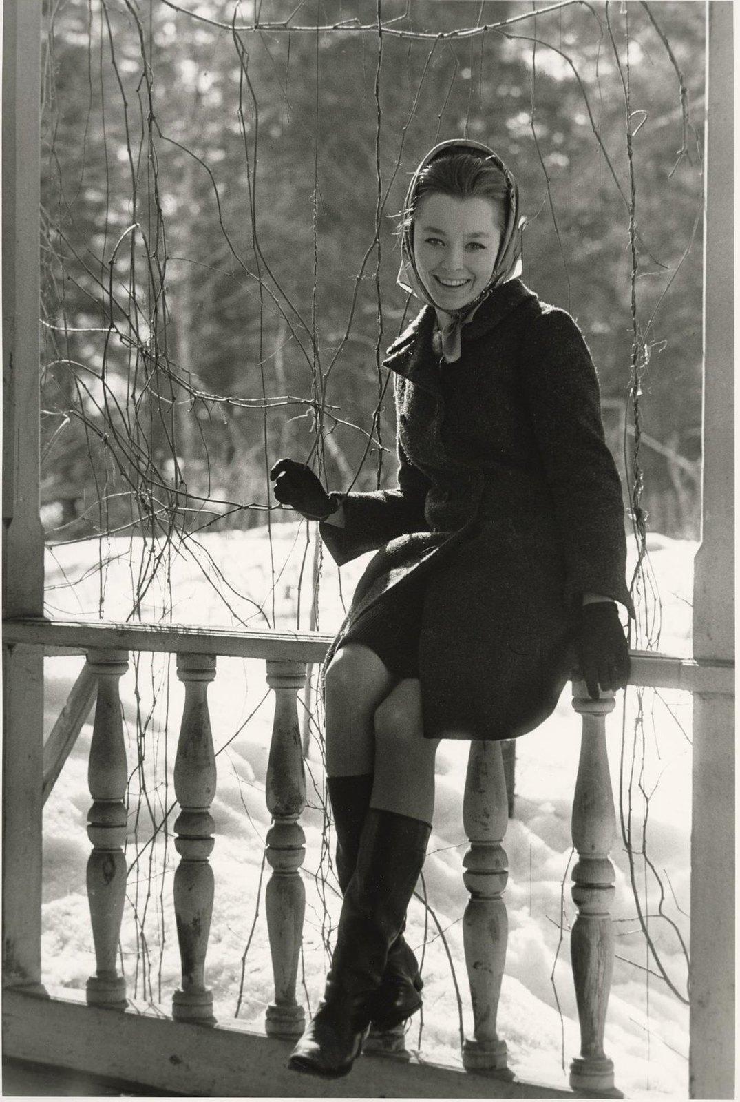 1966. Актриса Анастасия Вертинская