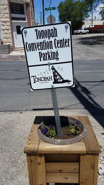 Tonopah Convention Center Parking
