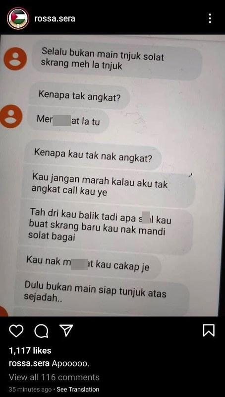 &Quot;Suami Pun Bukan Budak Lagi,&Quot; Isteri Shuk Sahar Dedah Diugut Oleh Farah