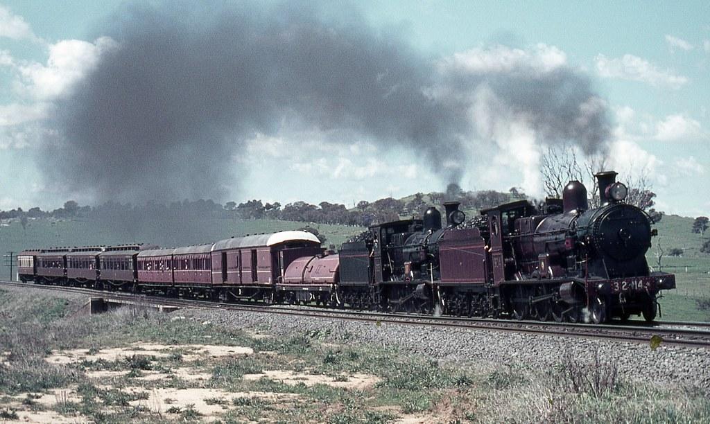 3203 + 3214 Tour Train, NSW by dunedoo