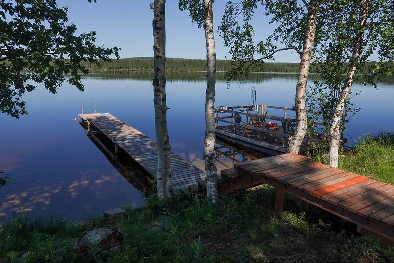 Luosujärvi beach