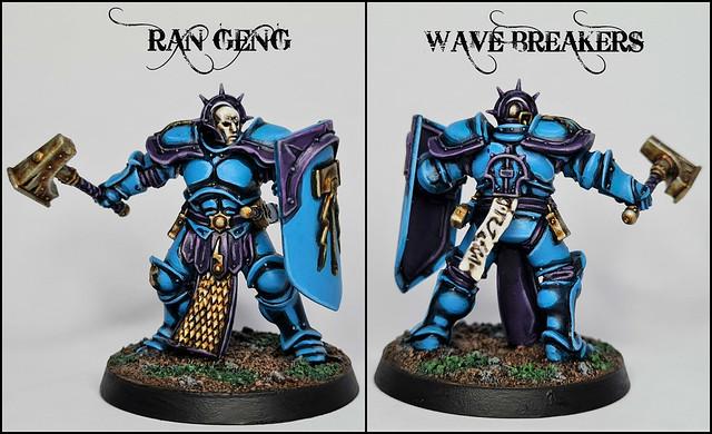 Ran Geng of the Wave Breakers Stormhost (Warhammer: Age of Sigmar, Stormcast Eternals)